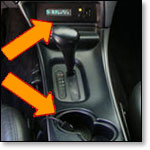 PVC tape used as in automotive console liners, cup holders and bin liners