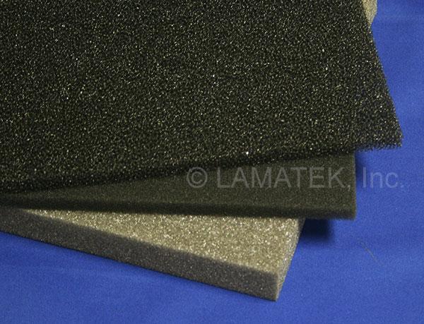 Foam filters for HVAC