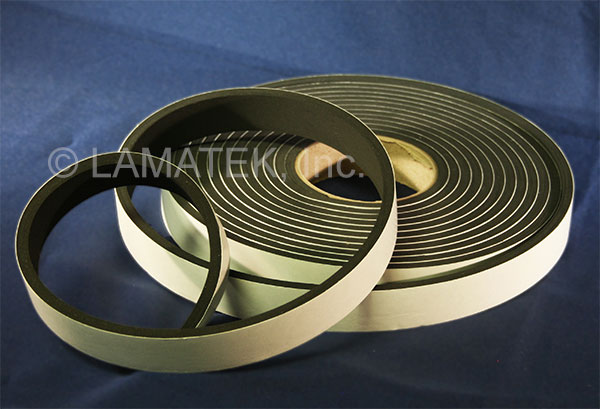 Air filter gasket tape for HVAC