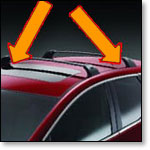 Automotive tape for vehicle roof racks.