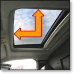 Sunroof Sealing Tape