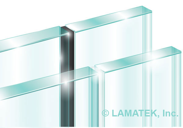 Glass Partition Tape by LAMATEK