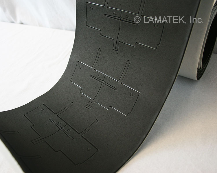 Neoprene Sponge Gaskets by LAMATEK