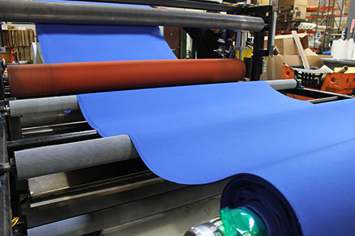 Wide Web Adhesive Laminating by LAMATEK