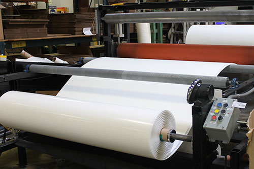 Wide Web Laminating by LAMATEK