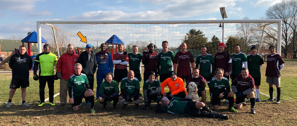 South Jersey Masters Soccer League Christmas Cup 2018