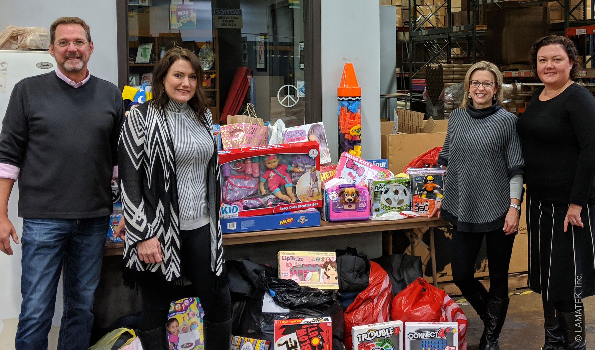 LAMATEK Holiday Toy & Coat Drive 2018