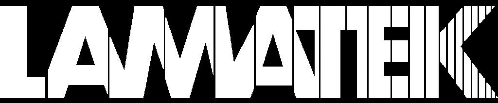 LAMATEK - Logo White