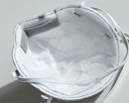 Adhesive Foam Strip For Nose Cushion On PPE Face Mask.